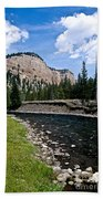 Upriver In Washake Wilderness Bath Towel