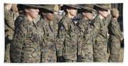 U.s. Marine Corps Female Drill Bath Towel