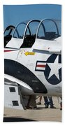 Us Navy Plane 001 Bath Towel
