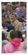 U.s. Senator John Kerry, Amidst Bath Towel