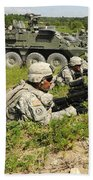 U.s. Soldiers Move Into Firing Bath Towel