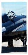 Us Ww II Fighter Plane Bath Towel