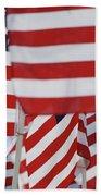 Usa Flags 02 Bath Towel