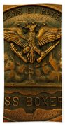 Uss Boxer Plaque Bath Towel