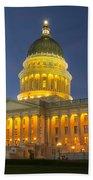 Utah State Capitol Building Bath Towel