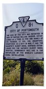 Va-q8i City Of Portsmouth Bath Towel