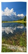 Val Di Sole - Covel Lake Bath Towel