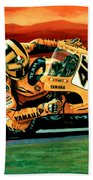 Valentino Rossi The Doctor Bath Towel