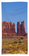 Valley Monuments  Bath Towel