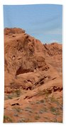 Valley Of Fire Rock Formations Bath Towel