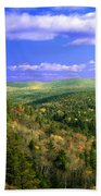 Valley Of Trees Bath Towel