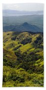 Valleys And Mountains Bath Towel
