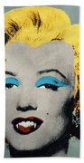 Vampire Marilyn Bath Towel