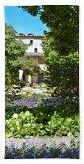 Van Gogh - Courtyard In Arles Bath Towel