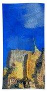 Van Gogh Meets Manhattan Bath Towel