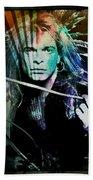 Van Halen - David Lee Roth Bath Towel
