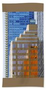 Vancouver Reflections No 1 Hand Towel