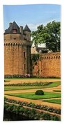 Vannes In Brittany France Bath Towel