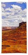 Vast Desert - Monument Valley - Arizona Bath Towel