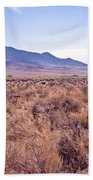 Vast Desolate And Silent - Lyon Nevada Bath Towel