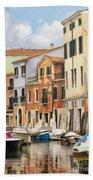 Venetian Apartments Impasto Bath Towel