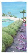 Venice California Canals Bath Towel
