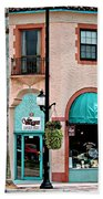 Venice Island Florida Bath Towel