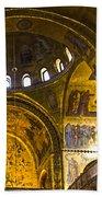 Venice - St Marks Basilica Interior Bath Towel
