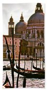 Venice The Grand Canal Bath Towel