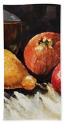 Vessel And Fruit Hand Towel