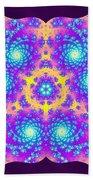Vibrations Of Khufu Bath Towel by Derek Gedney