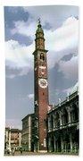 Vicenza Clock Tower Bath Towel