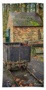 Victorian Mining Cart Bath Towel
