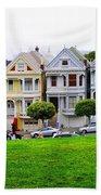 San Francisco Architecture Bath Towel