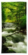 Viento Creek In June Bath Towel