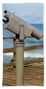 View Finder At The Beach Bath Towel