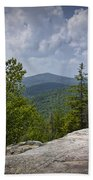 View From A Mountain In A Vermont Bath Towel