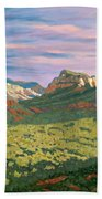 View From Airport Mesa - Sedona Bath Towel