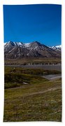 View From Eielson Bath Towel