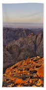 View From Mount Sinai Bath Towel