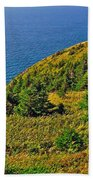 View From Skyline Trail In Cape Breton Highlands Np-ns Bath Towel