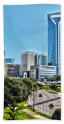 view of Charlotte North Carolina Bath Towel