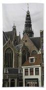 View Of Oude Kerk Amsterdam Bath Towel