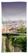 View Of Prague Bath Towel