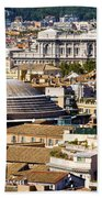 View Of Rome's Rooftops Bath Towel