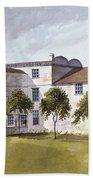 View Of Sir Noel De Carons House, 1809 Wc On Paper Bath Towel