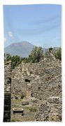 View Of Vesuvius Bath Towel