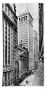 View Of Wall Street Bath Towel