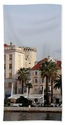 Views Of Split Croatia Bath Towel
