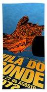 Vila Do Conde Portugal 1972 Grand Prix Bath Towel